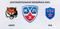 Амур - СКА прогноз и ставки КХЛ