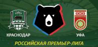 Краснодар - Уфа прогноз и ставки РПЛ
