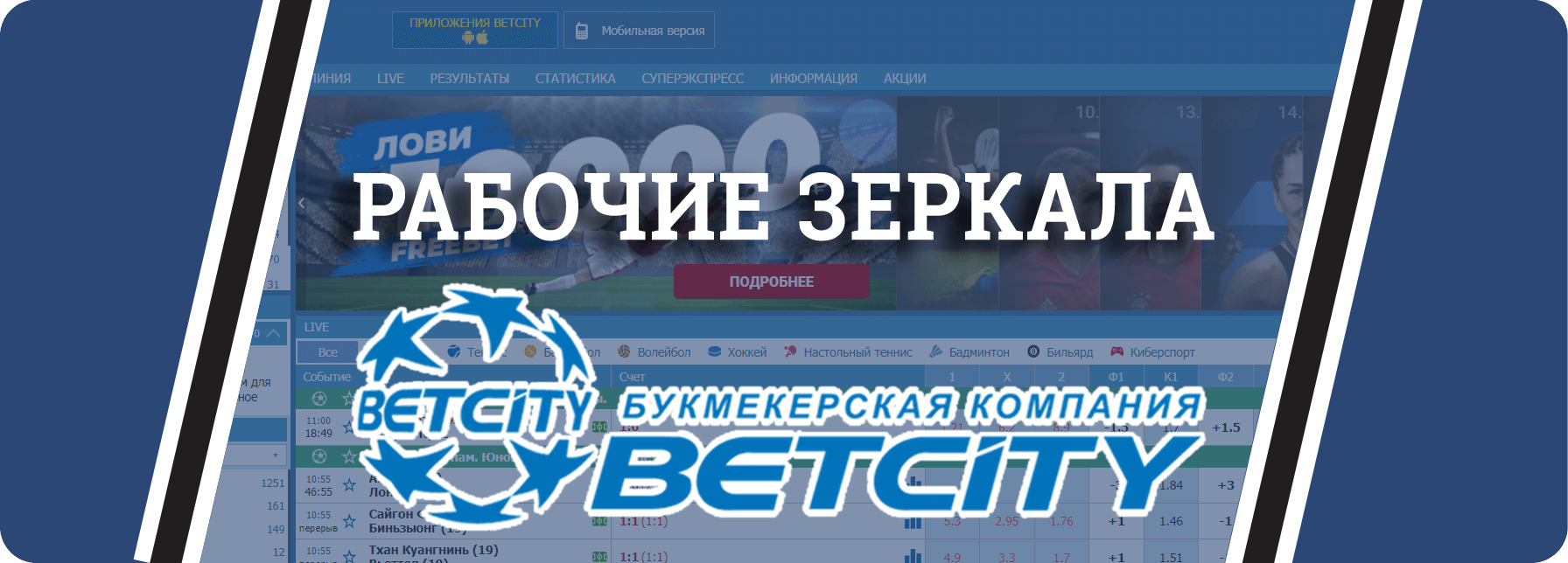 Betcity Com зеркало рабочее на сегодня прямо